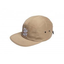 8 Bit Eye Hat Khaki 5 Panel...