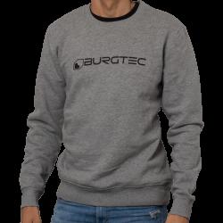 Grey Logo Sweater L