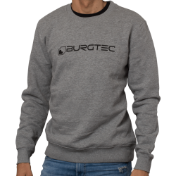 Grey Logo Sweater